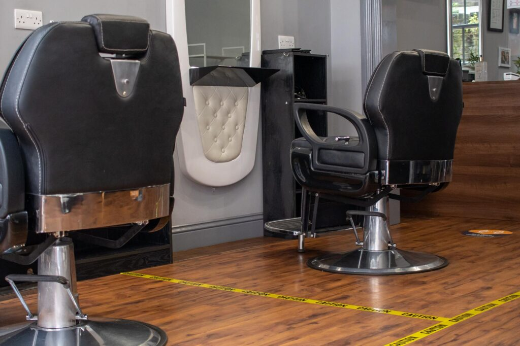 Commuter Barbers COVID-19 safety measures
